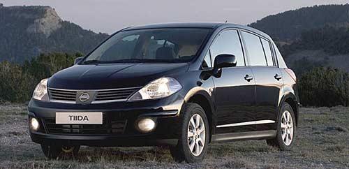 Nissan Tiida Visia