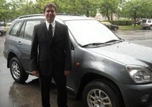 Alejandro Nicolini, Gerente Comercial de Chery Socma Argentina