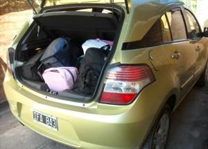 Travesía Verano 2010 de Cosas de Autos: ¿todo esto vamos a llevar?