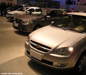 Chevrolet Corsa (Sail) en el Salón de Chile de 2006 - Foto: Cosas de Autos Blog