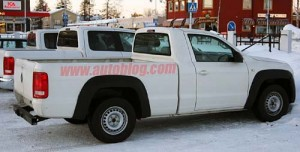VW Amarok Cabina simple en Suecia - Foto: Autoblog.com
