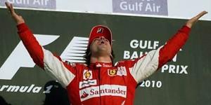Fernando Alono ganó en su debut con Ferrari.