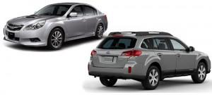 Los nuevos Subaru 2010