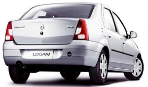 Renault Logan de anterior generación.