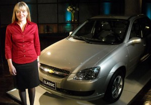 Laura Turchetti, responsable de Marketing de Chevrolet Argentina