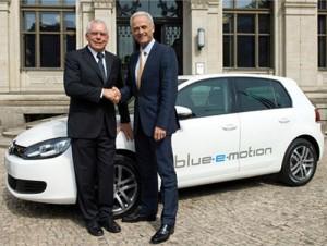 VW Golf Blue-e-Motion Concept