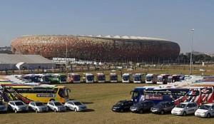 El grupo Hyundai-Kia entregó los vehículos para la logística del Mundial