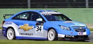 Leonel Pernía al mando del Chevrolet Cruze en Monza - Foto: WTCC.