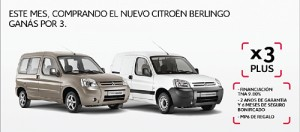 Campaña junio de la nueva Citroën Berlingo.