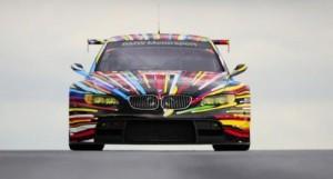 El BMW M3 GT2 art car creado por Jeff Koons