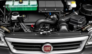 Motor Multijet del Fiat Ducato.