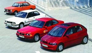 Parte de la historia de BMW a través de sus desarrollos eléctricos.