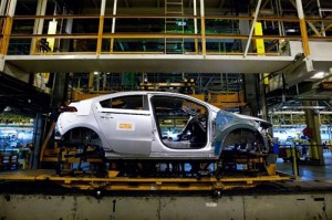 Proceso de producción del Chevrolet Volt