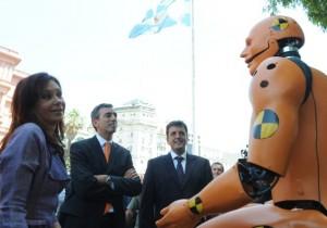 Cristina Fernández frente a la Seguridad vial