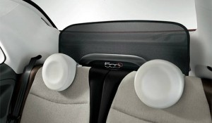 El sistema Wind Stop del Fiat 500 Cabrio