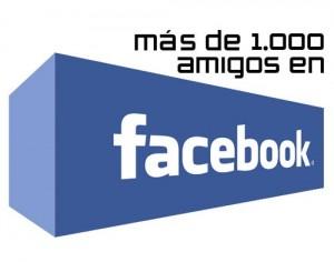 Sorteo 1000 amigos de Facebook.