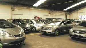 El garage que alquila Honda Libertador en el barrio de Palermo - Foto: La Razón