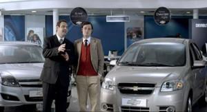 """Beneficios para refamosos"" de Chevrolet"