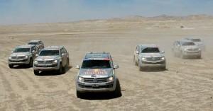 Volkswagen Amarok en el Dakar 2010