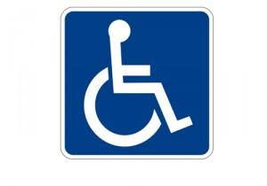 Señal de discapacitado