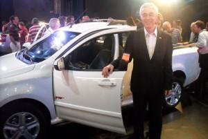 Jaime Ardila y el Chevrolet Montana