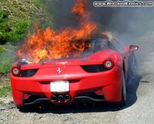 Recall para la Ferrari 458 Italia por los incendios.