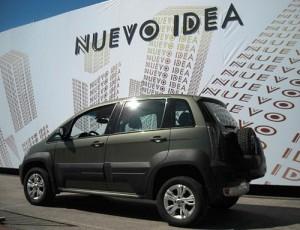 Nuevo Fiat Idea Adventure Locker - Foto: Cosas de Autos Blog