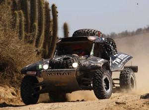 El McRae Buggy 4x2 de Chris Leyds en el Dakar 2010 - Foto: McRae Buggy