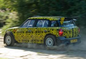 Mini Countryman WRC probando en Portugal