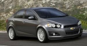 Primera foto oficial del Chevrolet Aveo 2012 Sedán