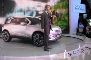Peugeot concept car HR1