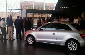 Presentación del Audi A1 en Maipú Exlusivos, concesionario Audi de Córdoba. Foto: Mundo Maipú.