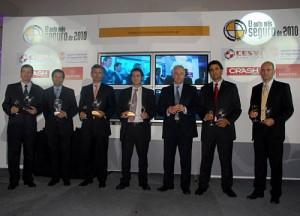 Todos los ganadores del Auto más seguro de 2010.