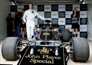 Emerson Fittipaldi y su Lotus 1972