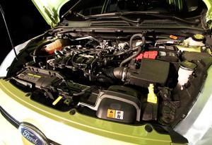 El motor del Ford Fiesta Kinetic Design