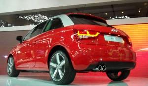El Audi A1 en el Salón de San Pablo 2010 - Foto: Cosas de Autos Blog.