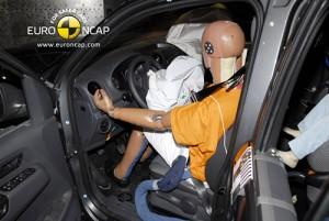 Volkswagen Amarok en los test del Euro NCAP.