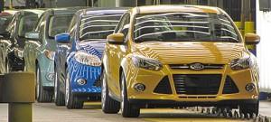 Inicio de producción del Ford Focus 2012 en Michigan.