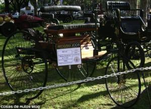 Un Benz de 1886 en Autoclásica