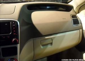 Chery Prototipo hatchback en Pinamar.