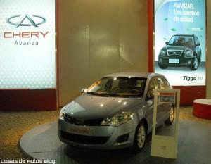 Chery Prototipo en el stand de Pinamar.