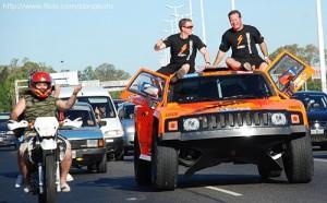 Robby Gordon en la largada del Dkar 2011 - Foto: TN y la Gente
