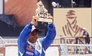 Nasser Al-Attiyah, vencedor del Dakar 2011.