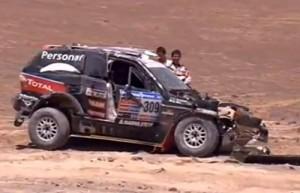 Terranova quedó afuera del Dakar 2011 - Imagen de TV