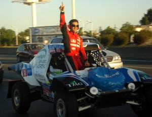 Spataro sigue en el Dakar 2011