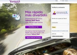 Mensaje de Yahoo objetado por la ANSV