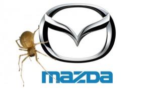 Recall de Mazda a causa de una araña