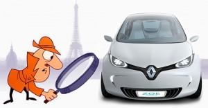 Inspector Clouseau y Renault Zoe