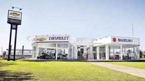 Concesionario Chevrolet-Suzuki