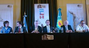 Presentación del Dakar 2012